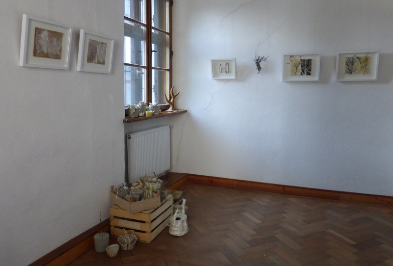 view into the exhibition - Ines Seidel