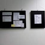 notice boards: election of new idioms. Ines Seidel