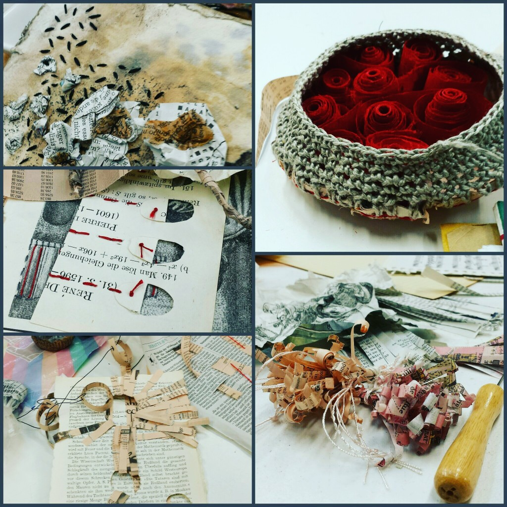 impressions from the  Crocheted Stories workshop in Newcastle